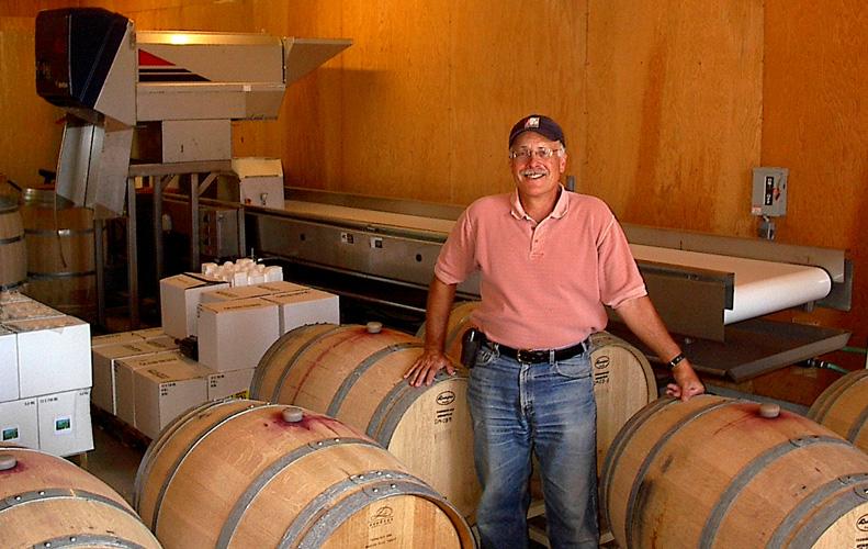 Barrels & barrels of wine, oh my!